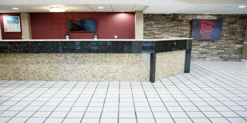 Jacksonville Hotel - front desk